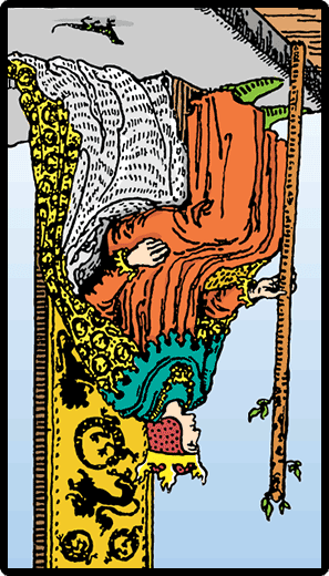 King of Wands (Reverse)