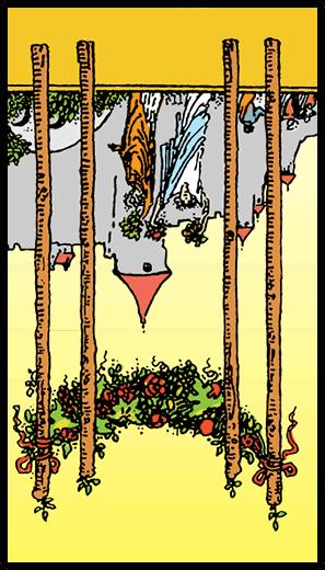 Asaların Dörtlüsü (Ters)