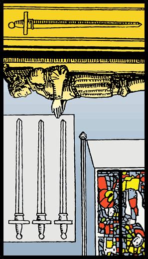 Four of Swords (Reverse)
