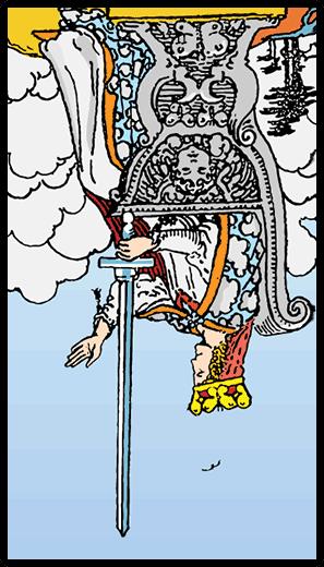 Queen of Swords (Reverse)