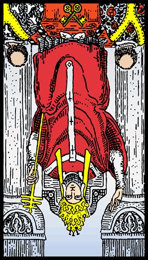 Baş Rahip (Ters)