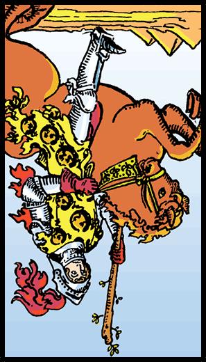 Asaların Şövalyesi (Ters)