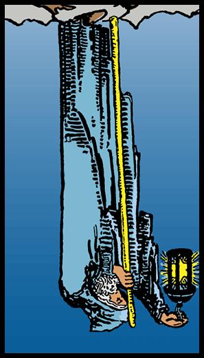 The Hermit (Reverse)