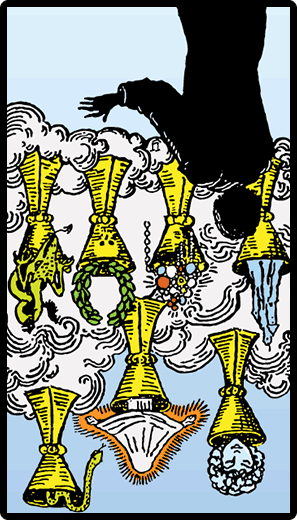 Seven of Cups (Reverse)
