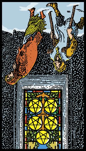 Tılsımların Beşlisi (Ters)