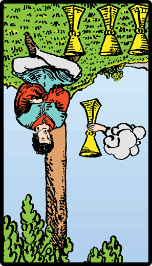Four of Cups (Reverse)